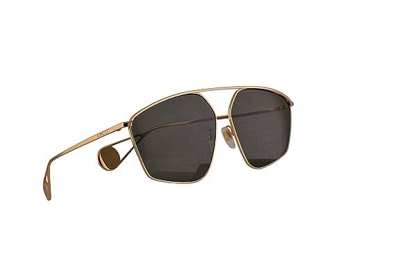 Amazon.com: Gucci GG0437SA 002 GG0437/SA 0437/SA GG 0437SA ...
