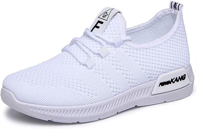 Zapatos Mujer, LMMVP Mujeres Chica Malla Transpirable Calzado Deportivo Casual Ligero Zapatillas Deportivas Zapatillas Zapatos Casuales Zapatillas de Deportes Calzado: Amazon.es: Ropa y accesorios