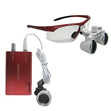 Amazon.com: zgood 2,5 x -420 Dental quirúrgico Binocular ...