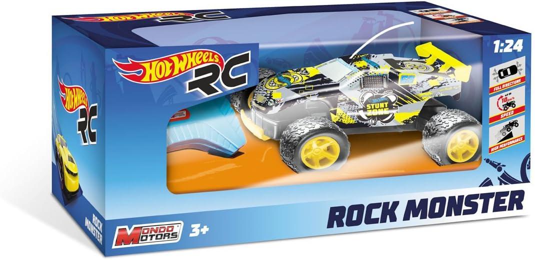 Hot Wheels, Mondo 63339, Coche con Radiocontrol, 18cm, Colores Surtidos