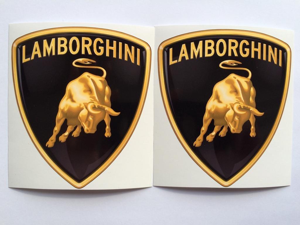 Amazon 2 Lamborghini New Logo Die Cut Decals By Sbd Decals