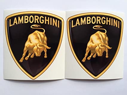 Amazon 2 Lamborghini New Logo Die Cut Decals By Sbd Decals
