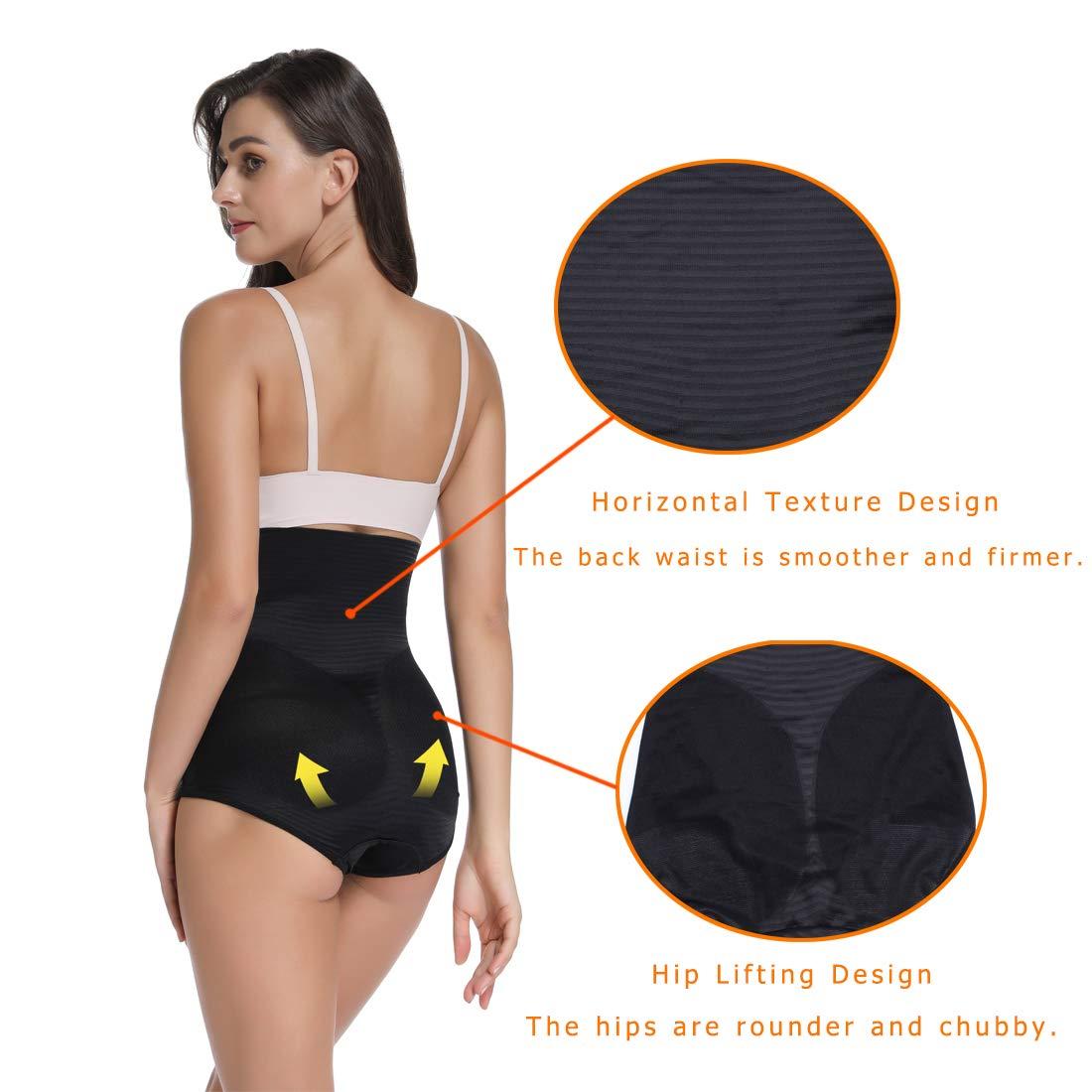 WOWENY Guaina Intimo Modellante Contenitiva Elastico Corpetto Senza Cuciture Slip Shapewear Mutande Contenitive Donna Vita Alta