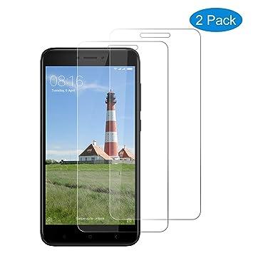 CNXUS [2-Pack Cristal Templado Compatible con Xiaomi Redmi 4X ...