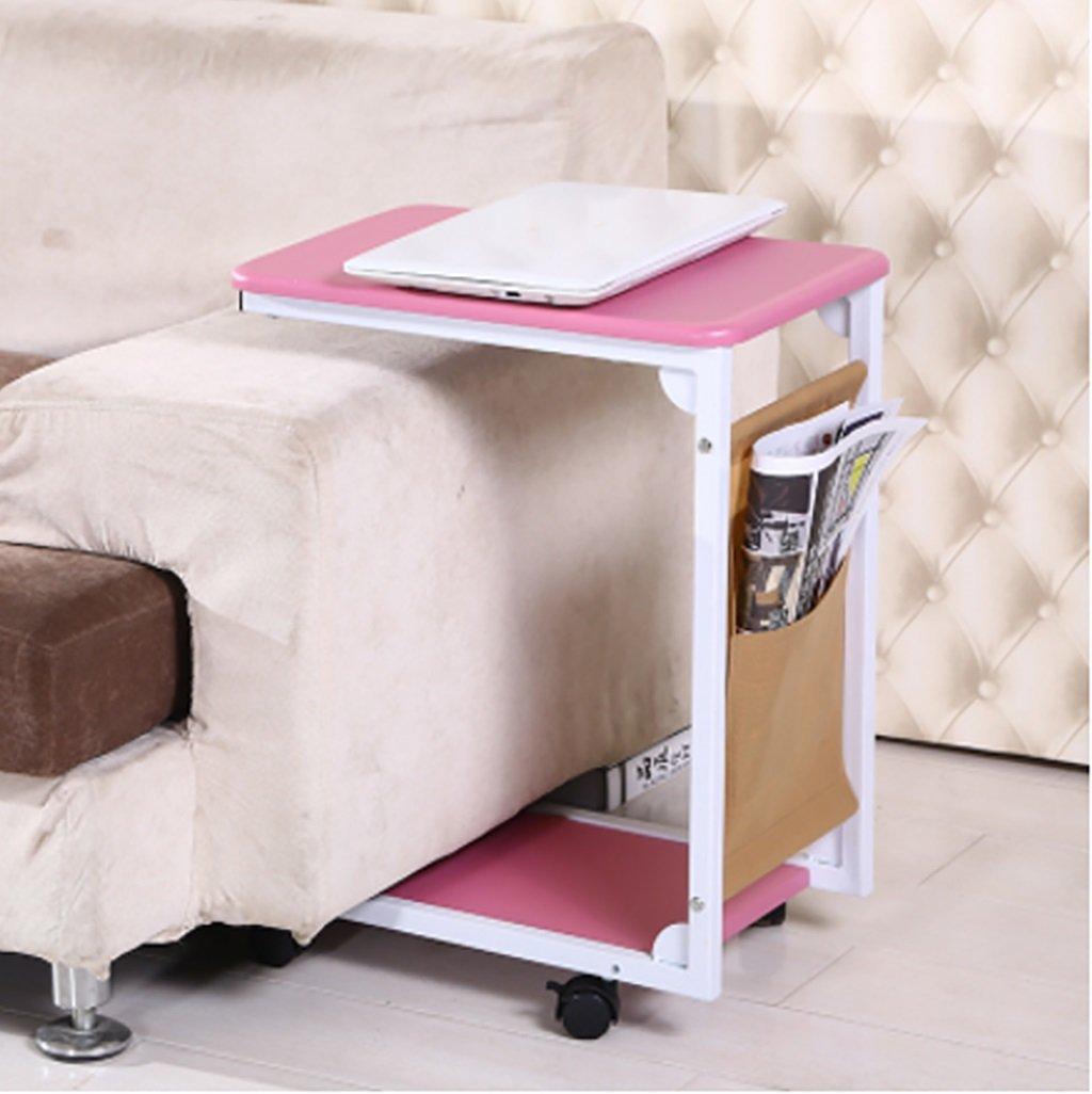 シンプルなミニモバイルサイドソファテーブル小さなコーヒーテーブル北欧ベッドサイドキャビネット小さなティーテーブルサイズ:30 * 45 * 60cm (色 : A) B07F83FZ3TA