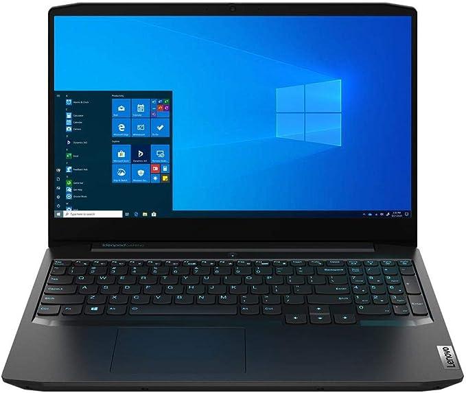 "Amazon.com: Lenovo IdeaPad Gaming 3 15.6"" Full HD Gaming Notebook Computer, Intel Core i5-10300H 2.5GHz, 8GB RAM, 256GB SSD + 1TB HDD, NVIDIA GeForce GTX 1650 4GB, Windows 10 Home, Onyx Black: Computers & Accessories"