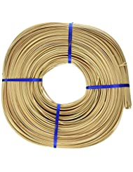 Commonwealth Basket Flat Oval Reed 3/16-Inch 1-Pound Coil, Ap...