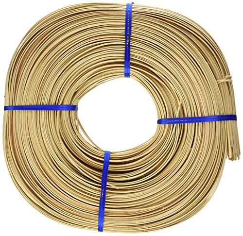 Commonwealth Basket Flat Oval Reed 3/16-Inch 1-Pound Coil, Approximately 275-Feet (Reed Flat 1)