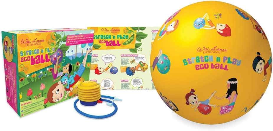 Wai Lana Little Yogis: Stretch n Play Eco Ball Kit