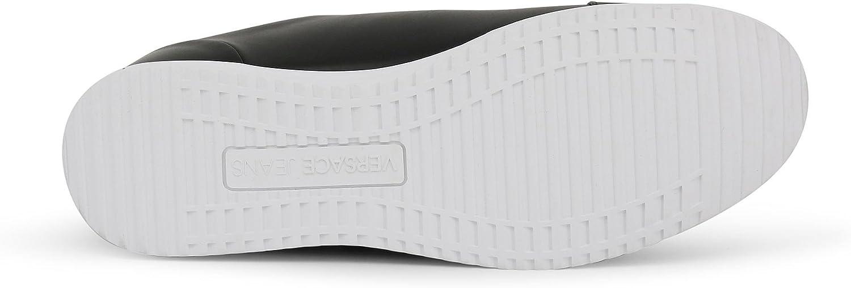 Versace Jeans Yrbsc5 Men Black Sneakers