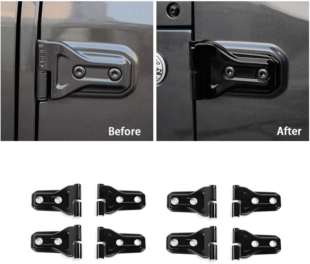 para Mini Cooper JCW ONE S R55 R56 R57 R58 R59 R61 Cubierta de la manija de la puerta del autom/óvil Cubierta de la manija del autom/óvil