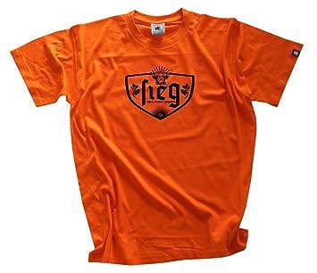 Shirtzshop - Victoria Nuestros Alemana Quemador Jugadores de Fútbol 2016 EM - Camiseta Naranja Naranja Talla:XXXL: Amazon.es: Deportes y aire libre