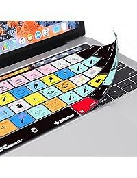 Adobe Photoshop Keyboard Cover Por los Editores Teclas para MacBook Pro Touch   Barra de   Protección y Accesos directos