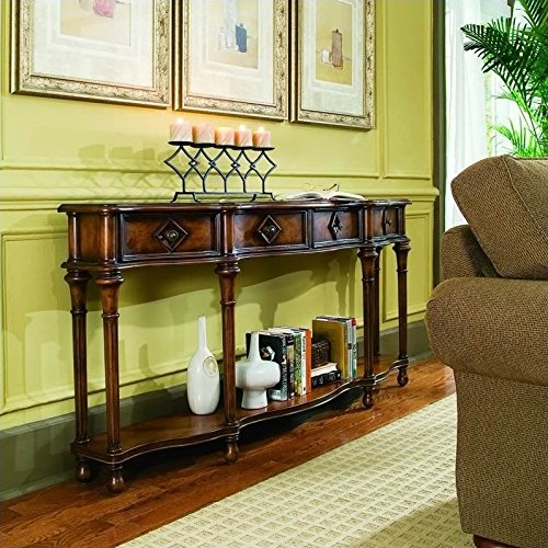 Hooker Furniture 963-85-122 72'' Hall Console, Medium Wood from Hooker Furniture