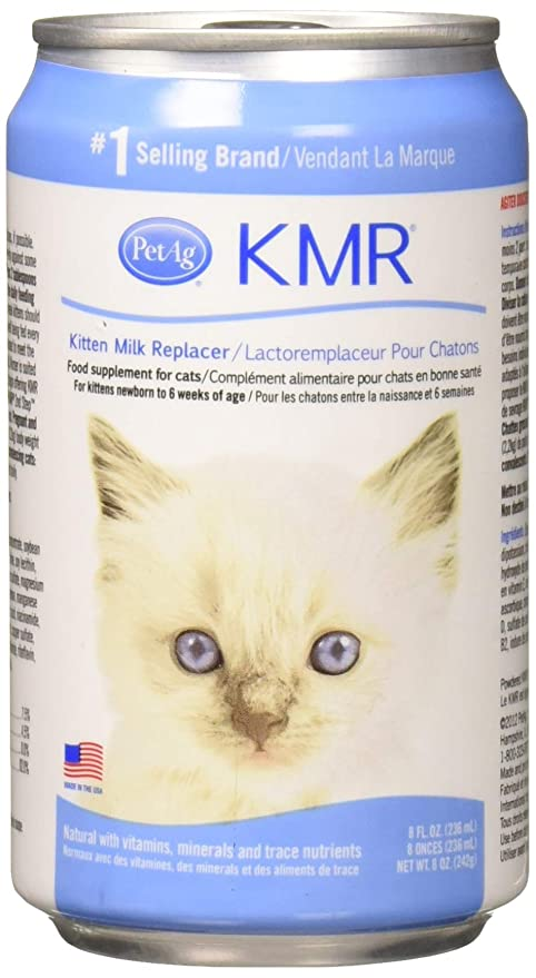 Amazon.com: (24 Pack) petag KMR líquido leche replacer 8 ...