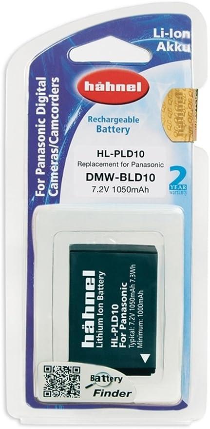 Hähnel Hl Pld10 Li Ionen Akku Für Panasonic Dmw Bld10 Kamera