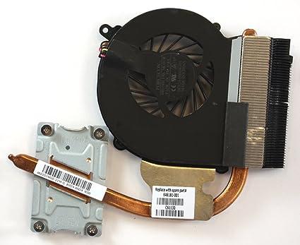 Power4Laptops Compaq Presario CQ43 gráficos Integrados Modelo Ventilador para Ordenadores portátiles con disipador de Calor para