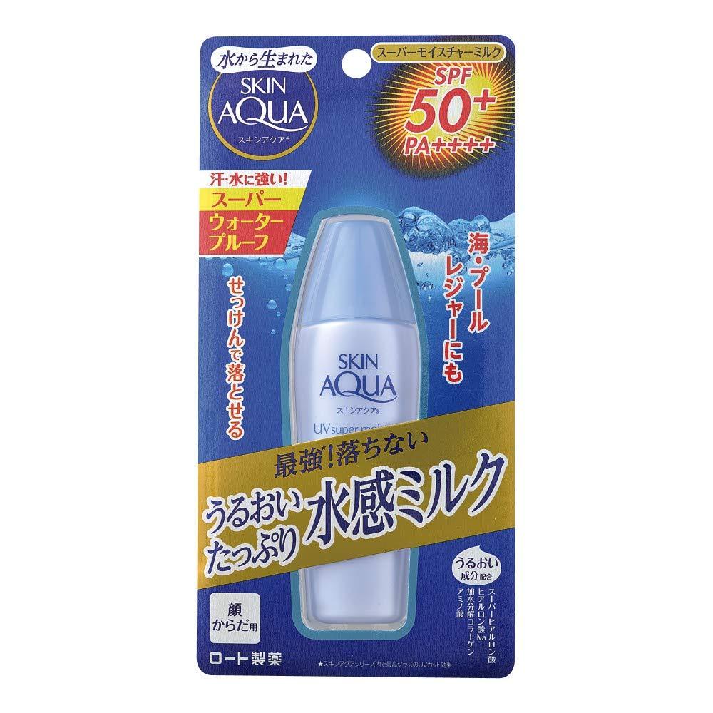 SKIN AQUA Super Moisture Milk (SPF50 PA ++++) 40mL 2019 new version by SKIN AQUA