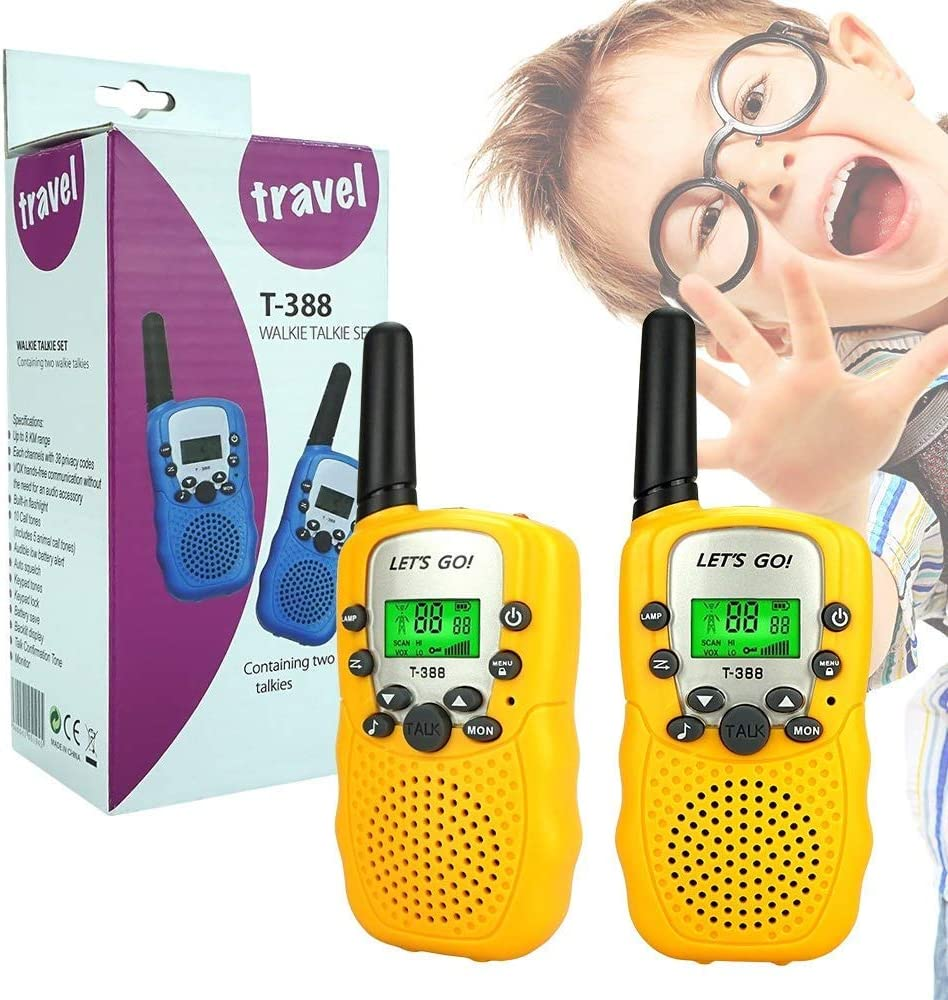 Best Gifts PMR446MHz 8 Channels KITY Walkie Talkies for Kids