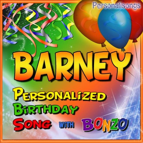 Barney Personalized Birthday Song With Bonzo By