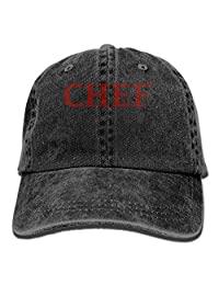 MISSNA Unisex Chef Cotton Baseball Cap Vintage Snap Cap Hats Adjustable