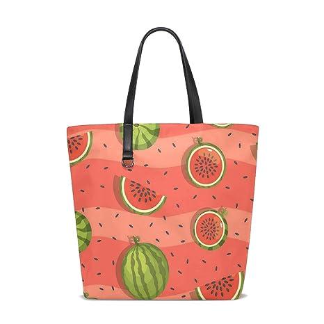 Amazon.com   RED Watermelons Tote Bag Purse Handbag Womens ...