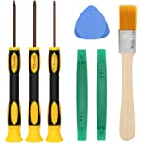T8 T6 T10 Screwdriver Set for Xbox One Xbox 360 Controller and PS3 PS4, Safe Prying Tool and Cleaning Brush, Computer Notebook Laptop