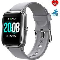LIFEBEE Smartwatch, Reloj Inteligente Impermeable IP68 para Hombre Mujer niños, Pulsera de Actividad Inteligente con…