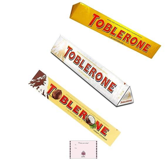 Toblerone Bar Milk | Barra De Chocolate Blanco 360g Grande ...
