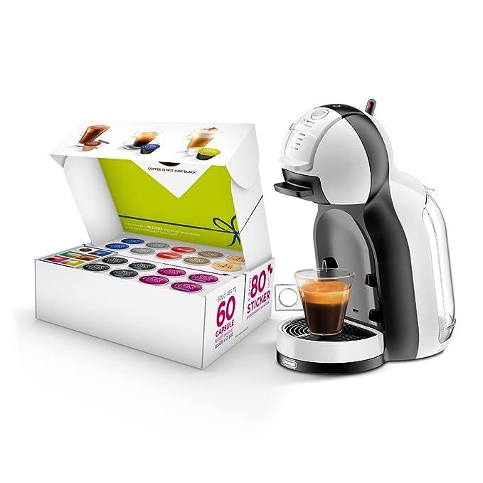 Nescafé Dolce Gusto Mini Me unidades especial San Valentín, Máquina para café espresso y otras bebidas automático White&Black: Amazon.es: Hogar