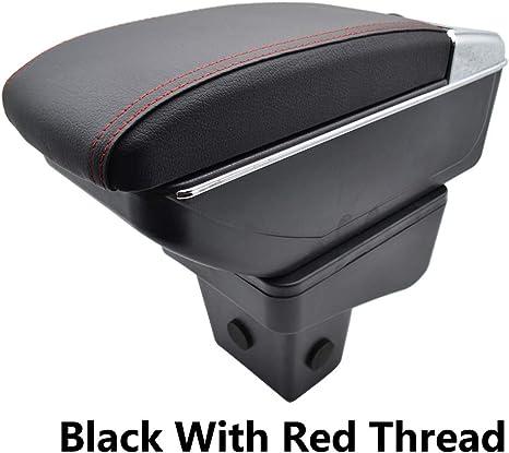 resistente e durevole regolabile XtremeAuto/® Bracciolo per console centrale in pelle morbida