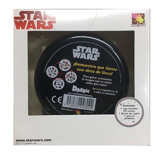 Asmodee Dobble Star Wars - Español ASDOSW02: Amazon.es: Juguetes y juegos