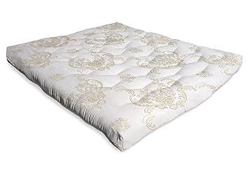 the futon shop fu18dffwe bio luxurious all natural wool futon mattress full amazon    the futon shop fu18dffwe bio luxurious all natural      rh   amazon