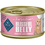 Blue Buffalo True Solutions Blissful Belly Natural Digestive Care Adult Dry Cat Food and Wet Cat Food, Chicken