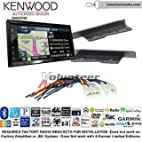 2015 toyota yaris gps - Volunteer Audio Kenwood DNX574S Double Din Radio Install Kit with GPS Navigation Apple CarPlay Android Auto Fits 2003-2009 Toyota 4Runner, 2003-2006 Tundra (Without JBL system)