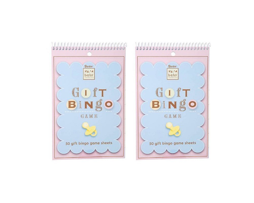 Amazon.com: Baby Shower Gift Bingo Game, 100 Sheets: Baby