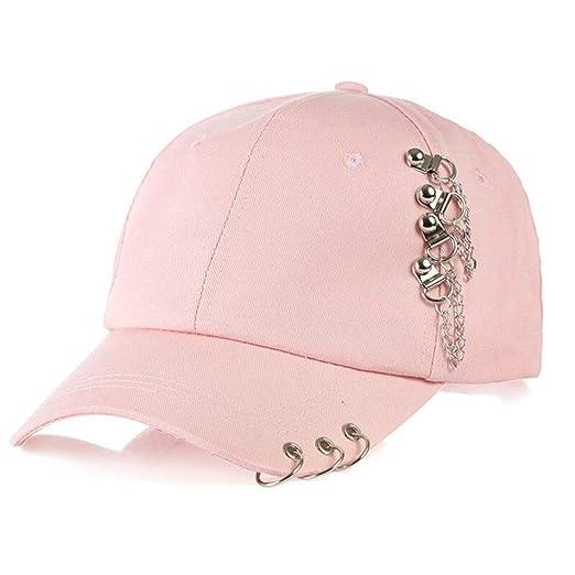 kyprx Sombreros de Sol para Mujer Gorras de béisbol de Anillo de ...
