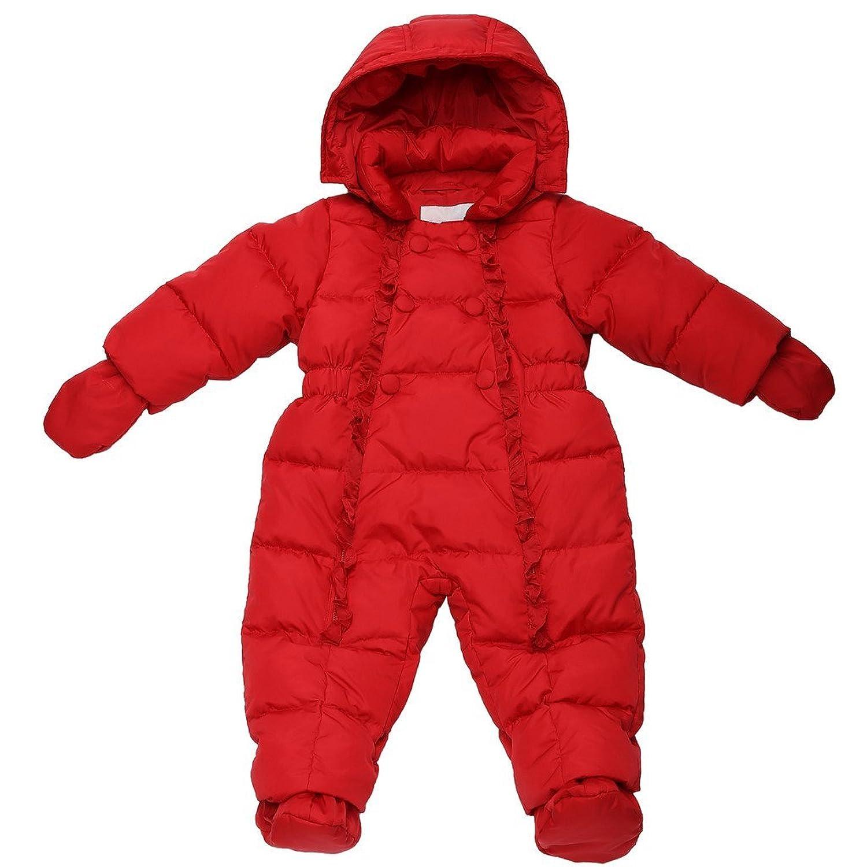 Oceankids Winter Baby Mädchen Einteiliger Schneeanzug mit Entendaunenfüllung