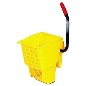 Rubbermaid Commercial 612788YEL WaveBrake Side-Press Wringer, Yellow