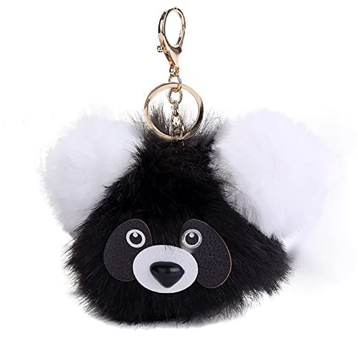 Image Unavailable. Image not available for. Color  FinancePlan Women s Panda  Pattern Keychain 790b27be0b
