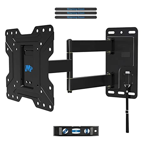 Amazoncom Mounting Dream Full Motion Lockable Tv Wall Mount For 17