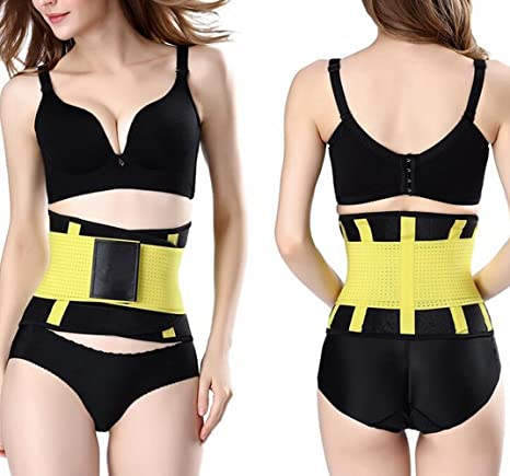 5bacbd7dfd5 Magnusdeal® Unisex Xtreme Power Belt Hot Slimming Thermo Shaper Waist  Trainer