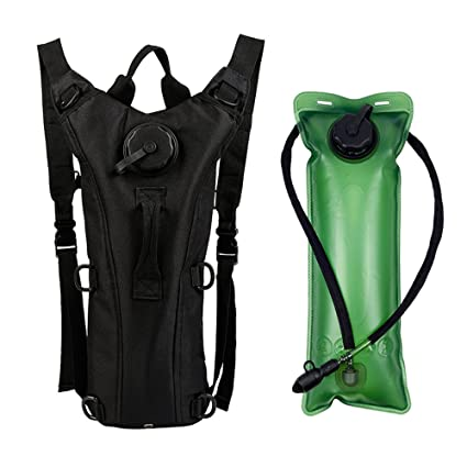 8e3b59a11e94 Amazon.com : ZOORON Hydration Pack, Adjustable Water Drink Bag Pack ...