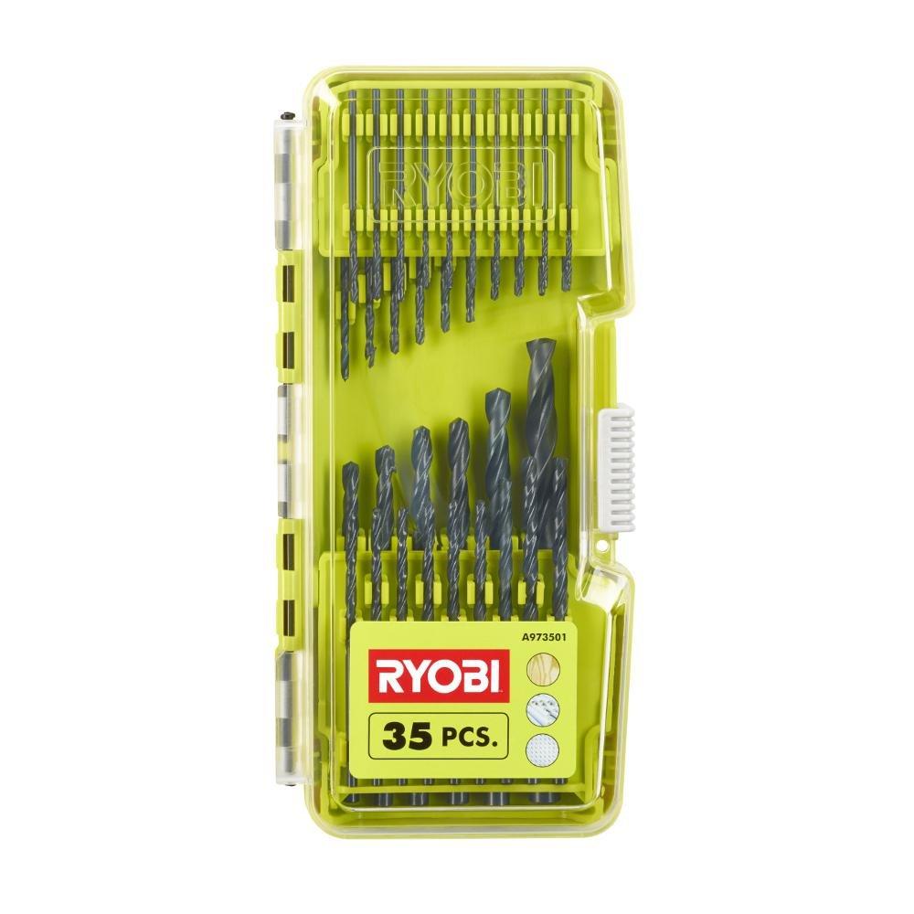 Ryobi Bohrer, 35 Stück