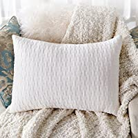 Sable Shredded Memory Foam Pillow with Thickened Bamboo Pillowcase for Sleeping