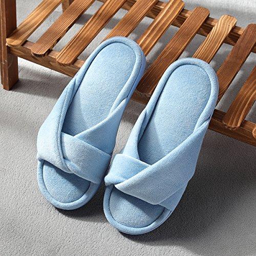 Chaussons CocoHome Femme CocoHome Chaussons Bleu pour q67wTP6n1