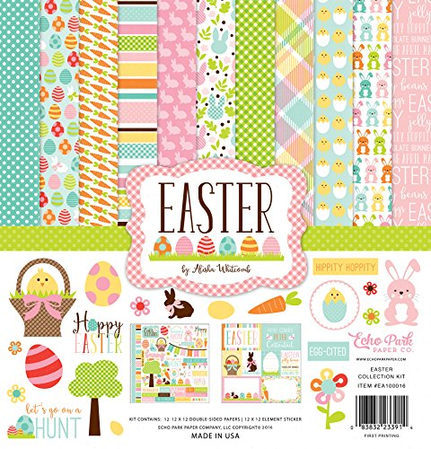 Echo Park Paper Company EA100016 Easter Collection Kit ()