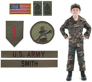 Amazon.com: Kids Woodland BDU Uniforme Militar Ejército ...
