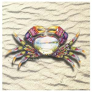 Thirstystone 4-Piece Tapestry Crab Coaster Set