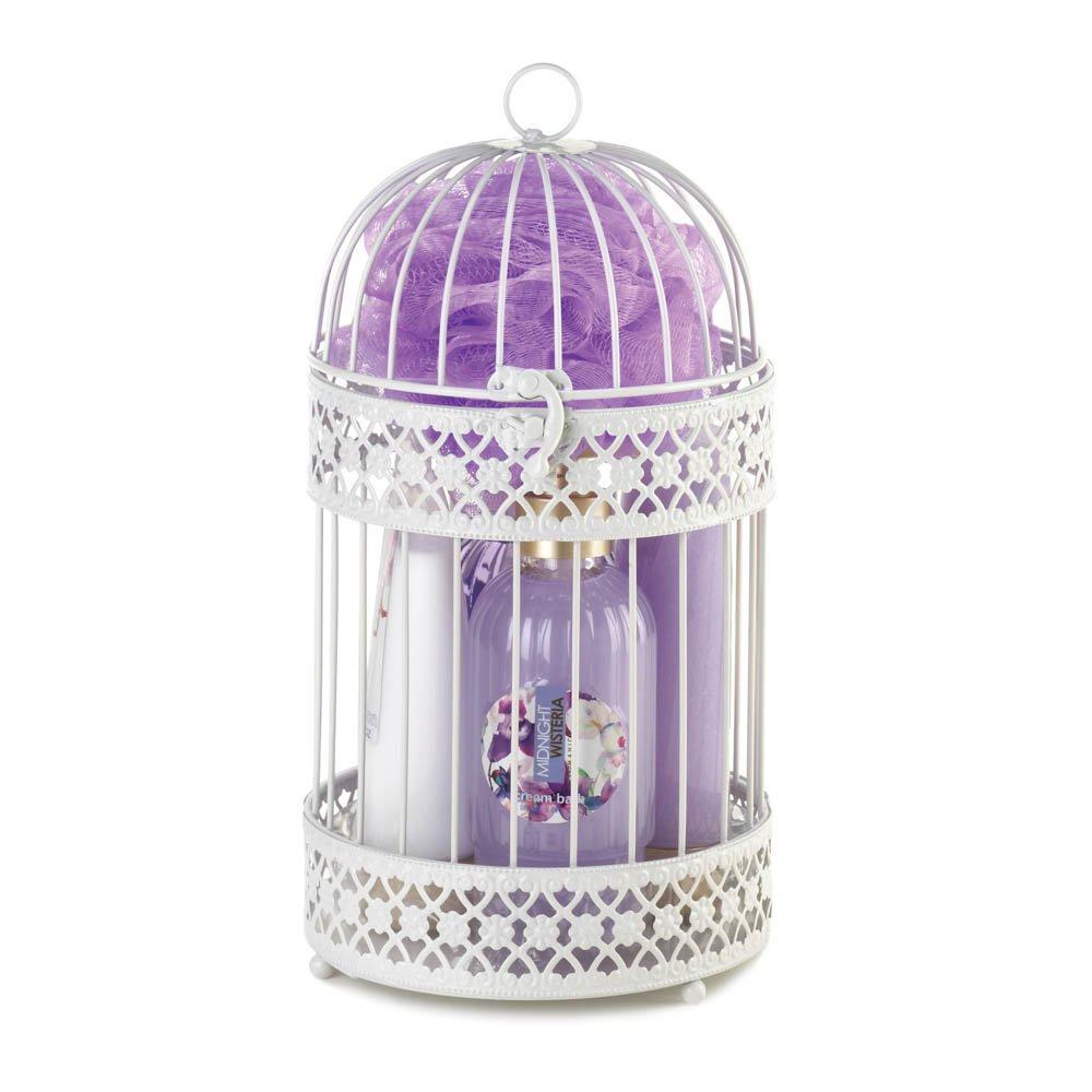 Ight Wisteria Lantern Spa Set